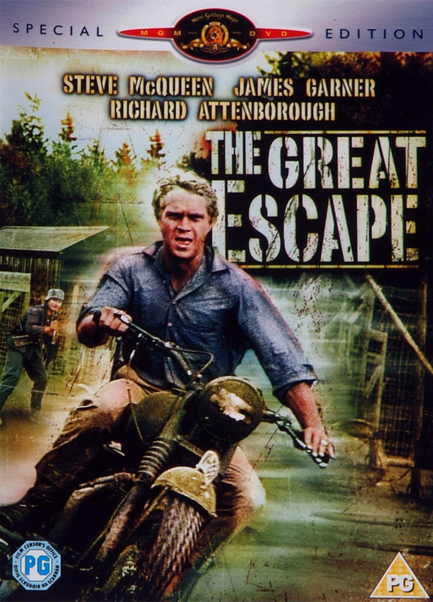 Special Edition paoster for The Great Escape - a character created for the film, Virgil Hilts