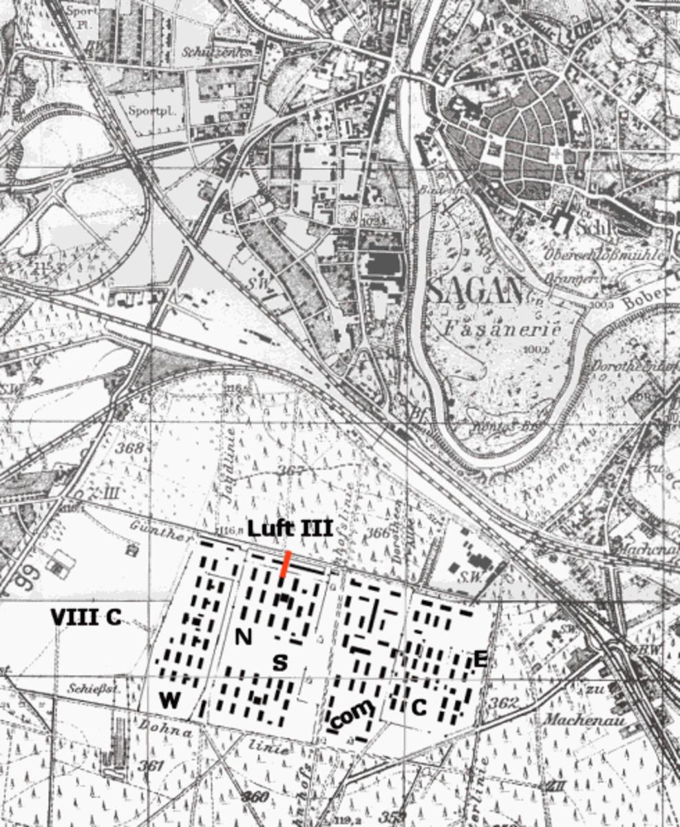 Stalag Luft III Plan