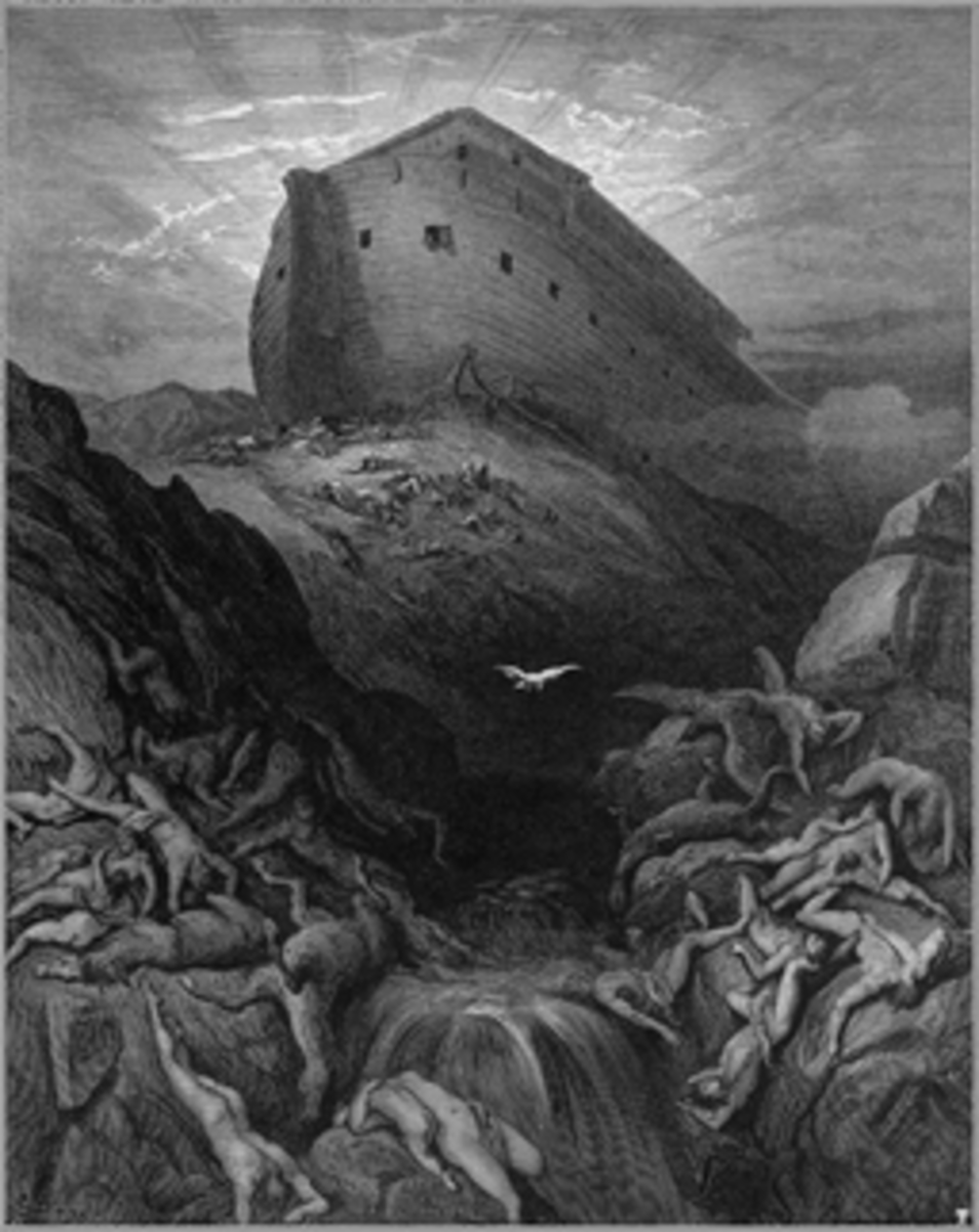 """Noah and his family were """"locked in"""" to salvation, but those given over to powerful delusion are """"locked in"""" to destruction."""