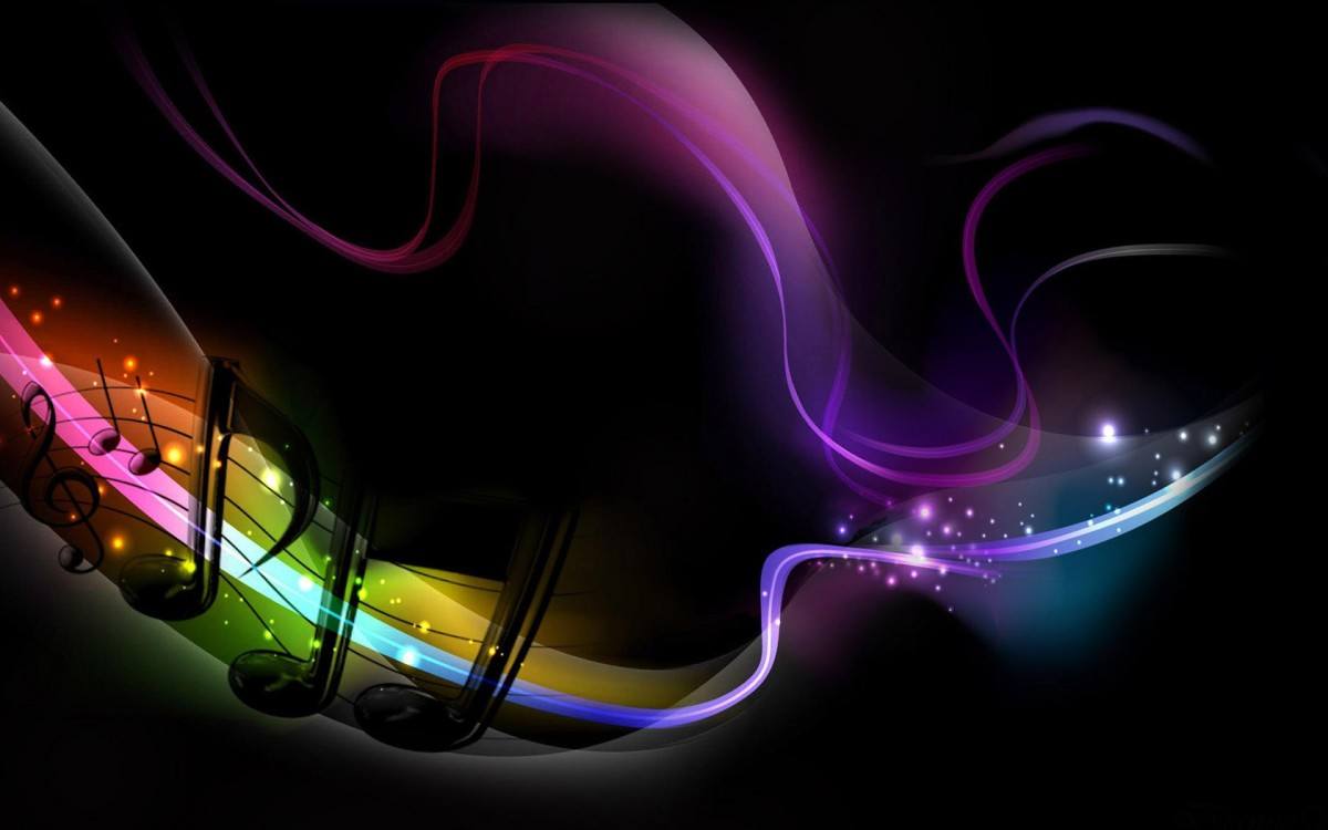 Along with its Sound, Music has a very beautiful Color