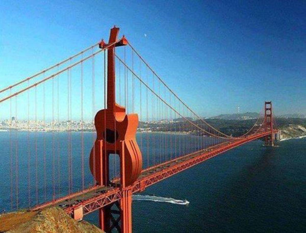 Funky Bridge as In Musical Bridge....