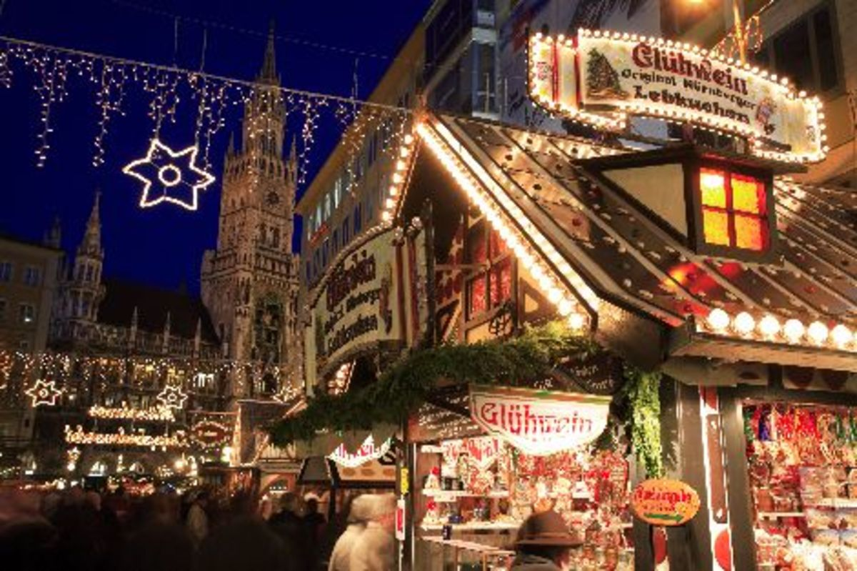 Christkindlmarkt in Munich, Germany
