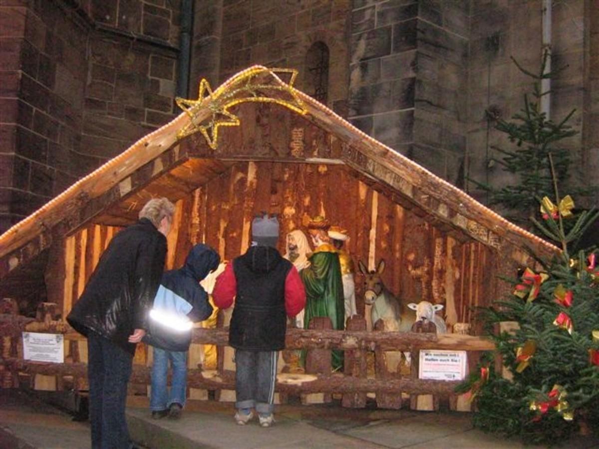 German nativity scene.