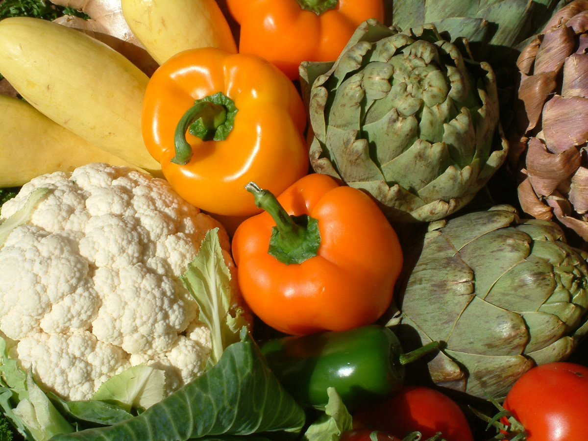 Vegetables come in a wide variety of shapes and sizes and can be used to create delicious and nutritious meals.