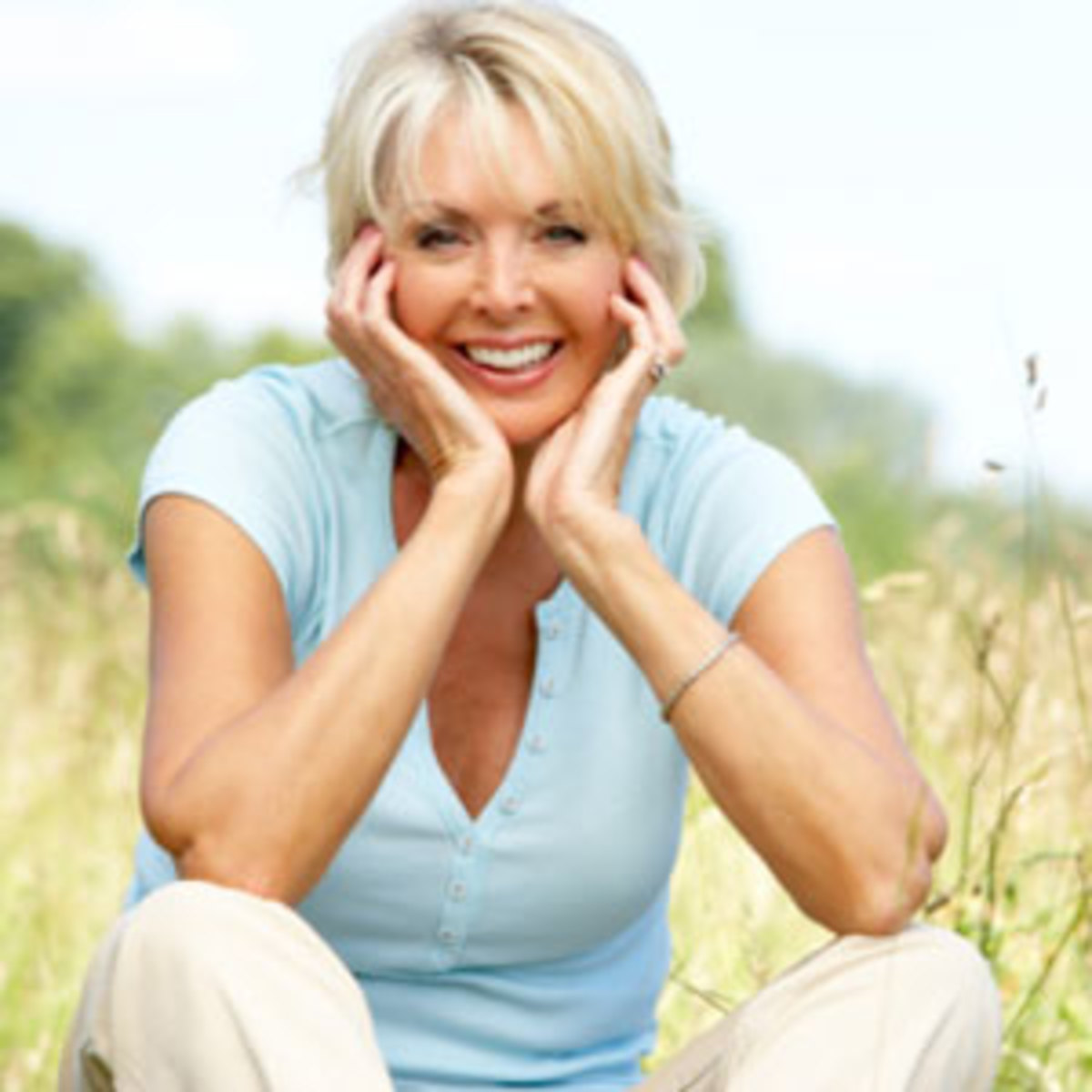 A woman of menopausal age
