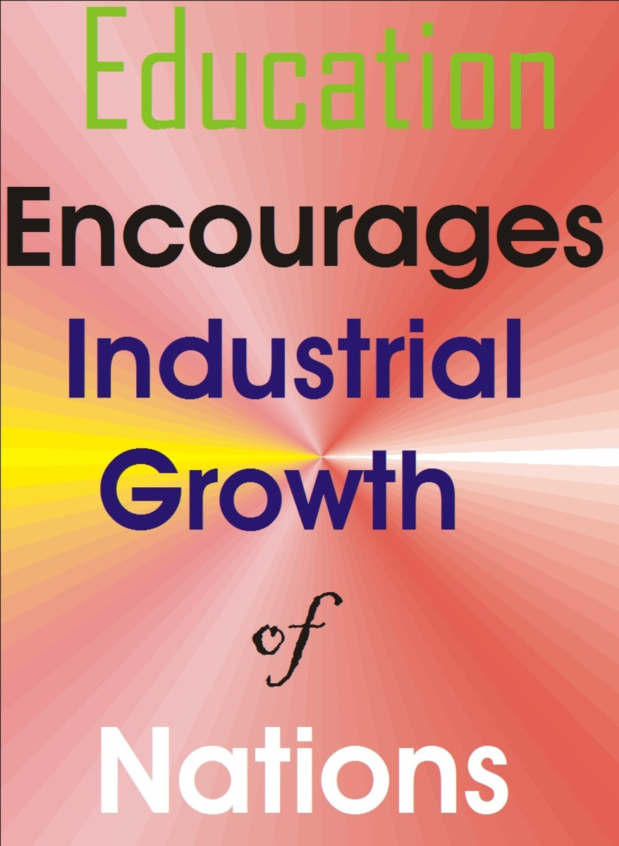 Education brings about industrial growth and it is remarkable importance .