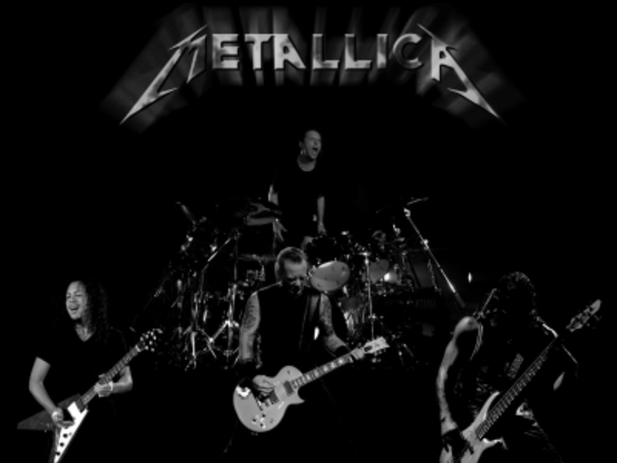 Metallica - A notable extreme trash metal band