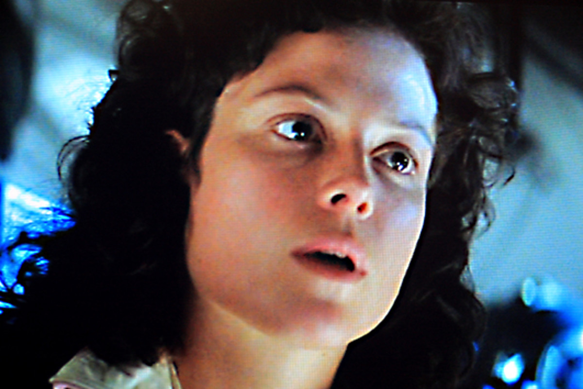 Sigourney Weaver is Ripley