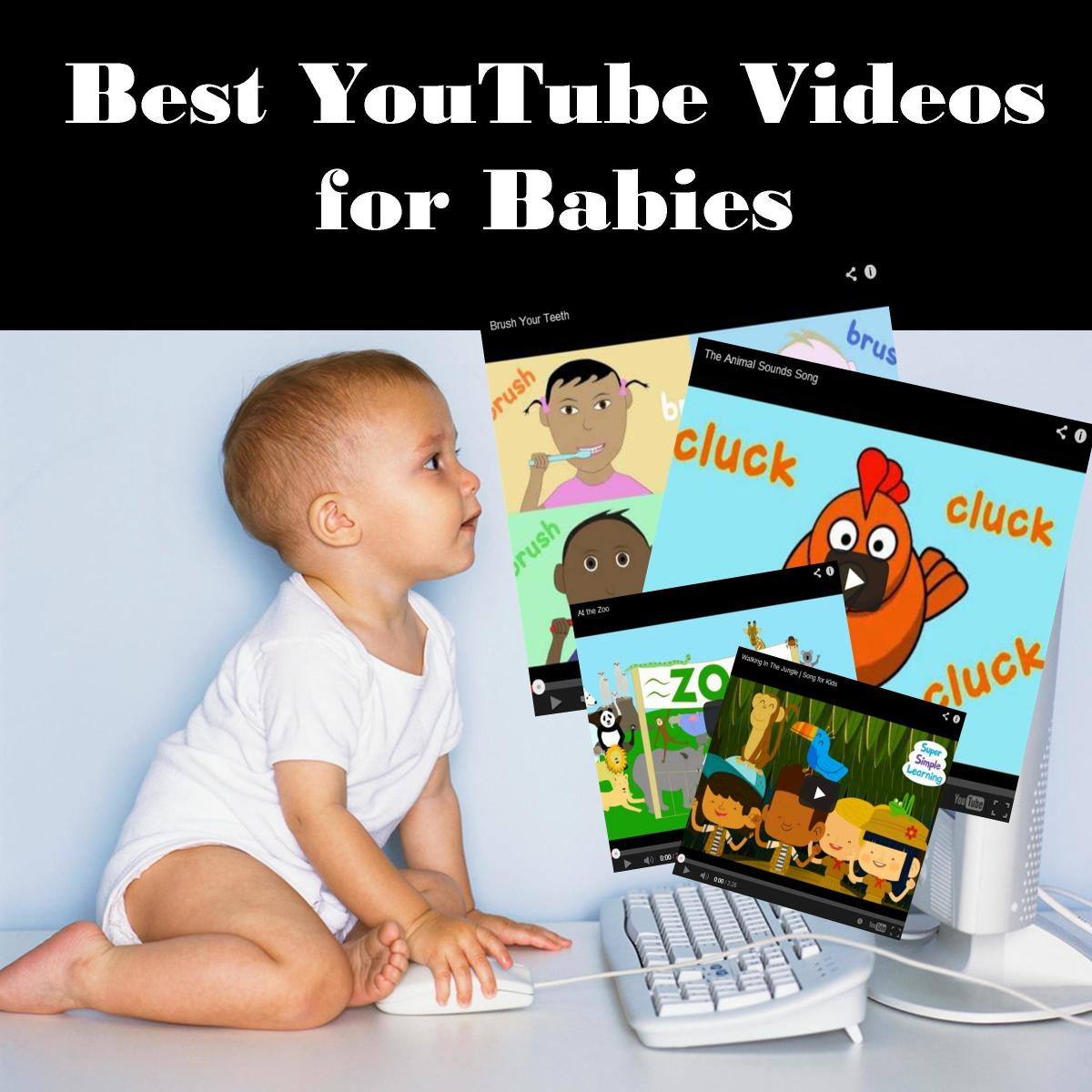 Many of the popular videos for babies on Youtube are getting millions, even hundreds of millions of views!