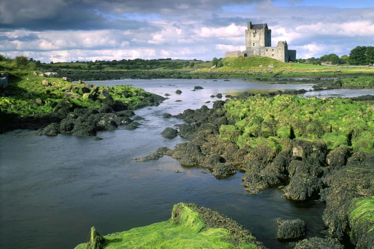 The land of the Tuatha De Danann.