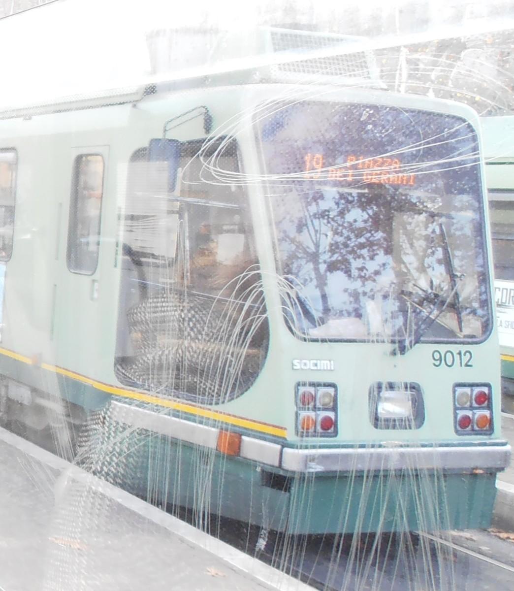 Tram in Rome