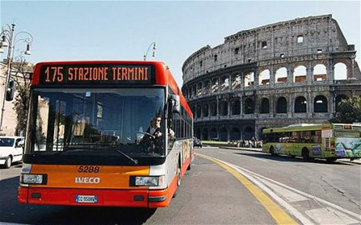 Bus in Rome