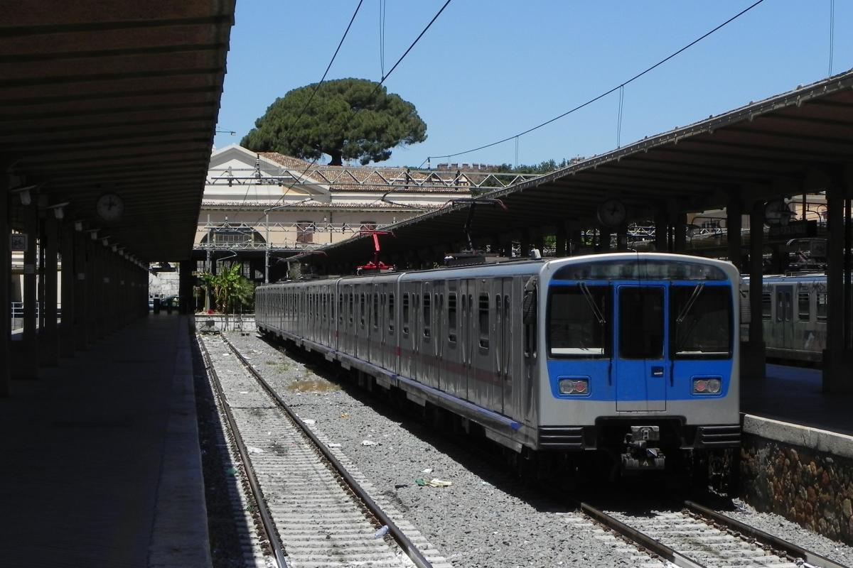 City Railways - Train from Rome to seaside