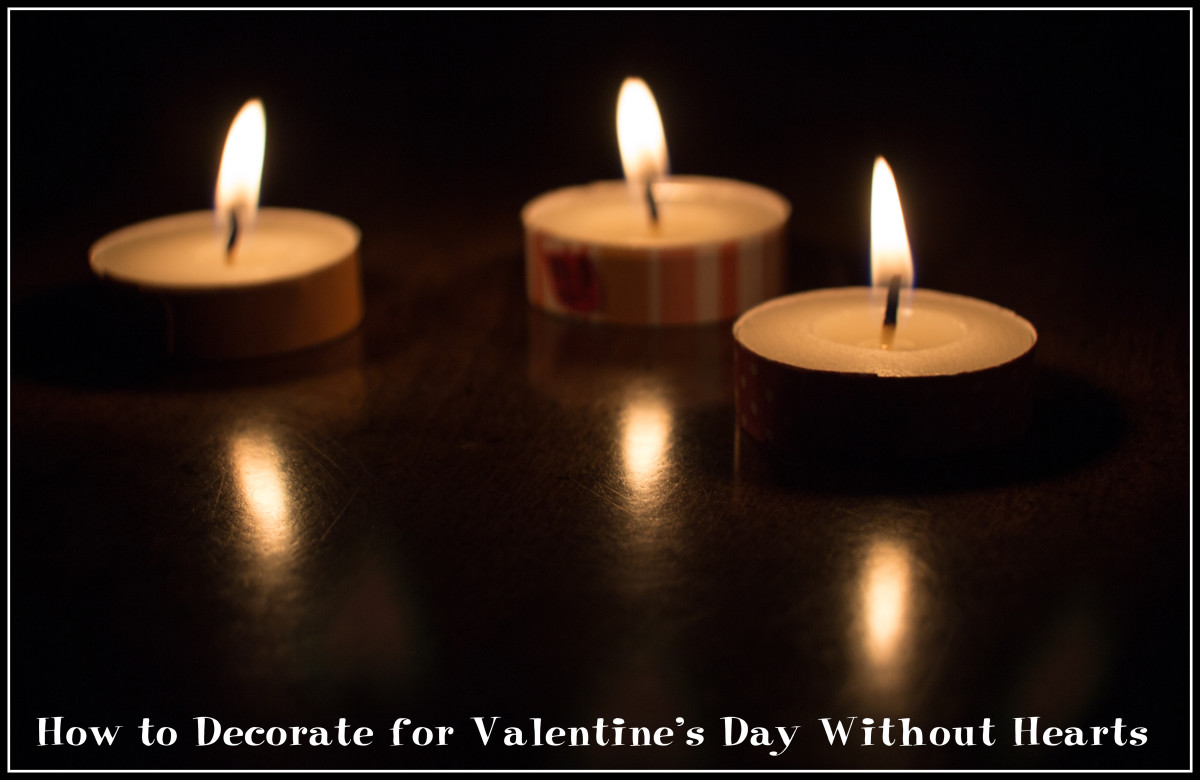 How to Decorate for Valentine's Day Without Hearts