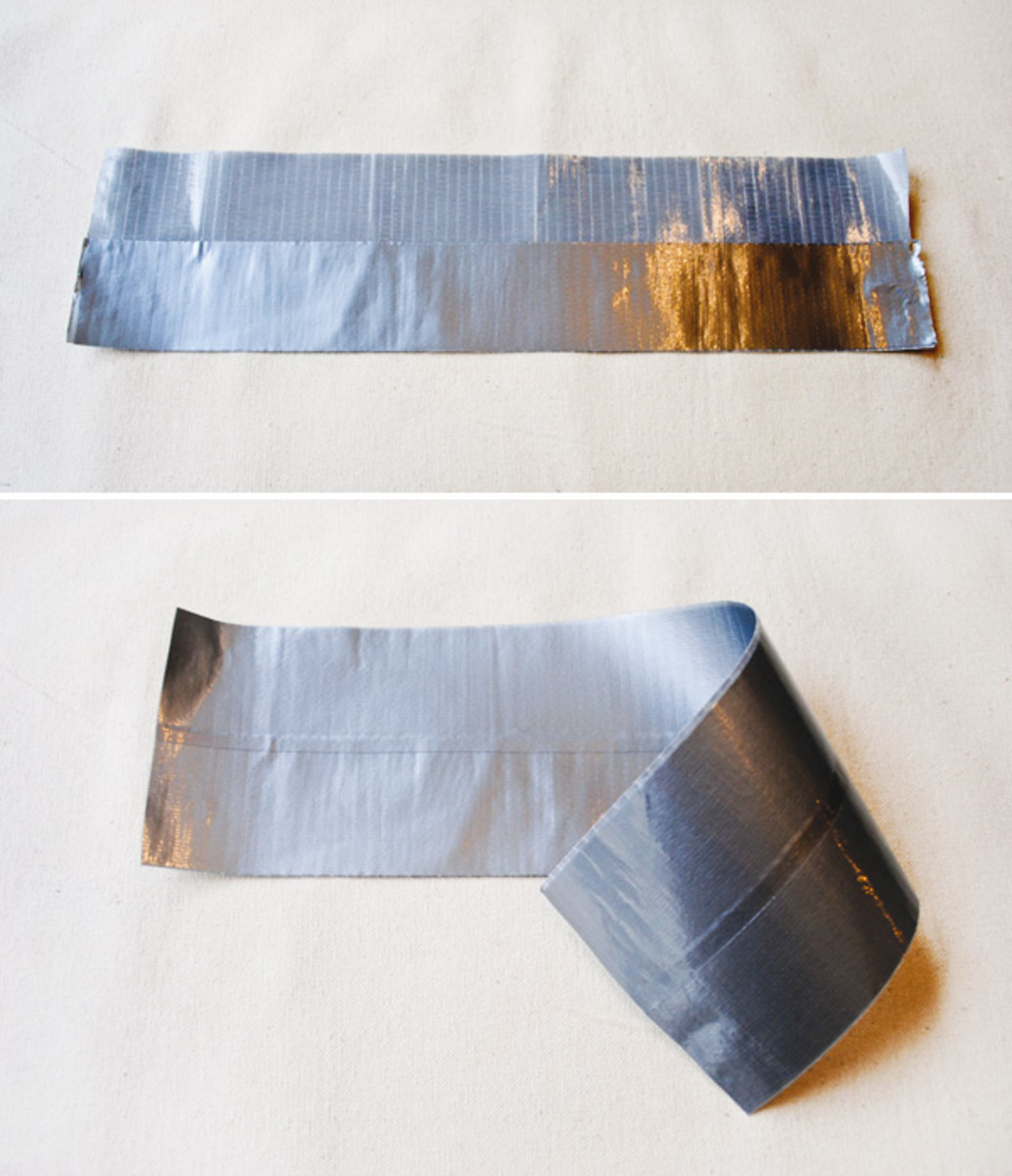 Strip of Duct Tape Left Behind