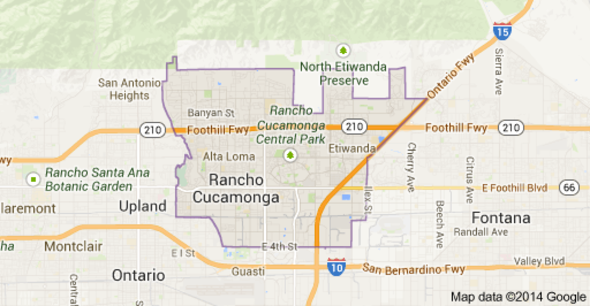 Ranch Cucamonga, California