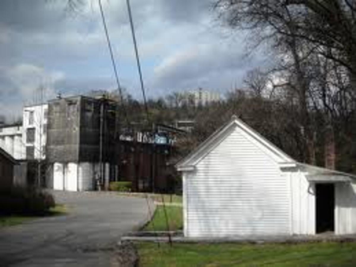 Jack Daniel's distillery, Lynchburg, Tennessee