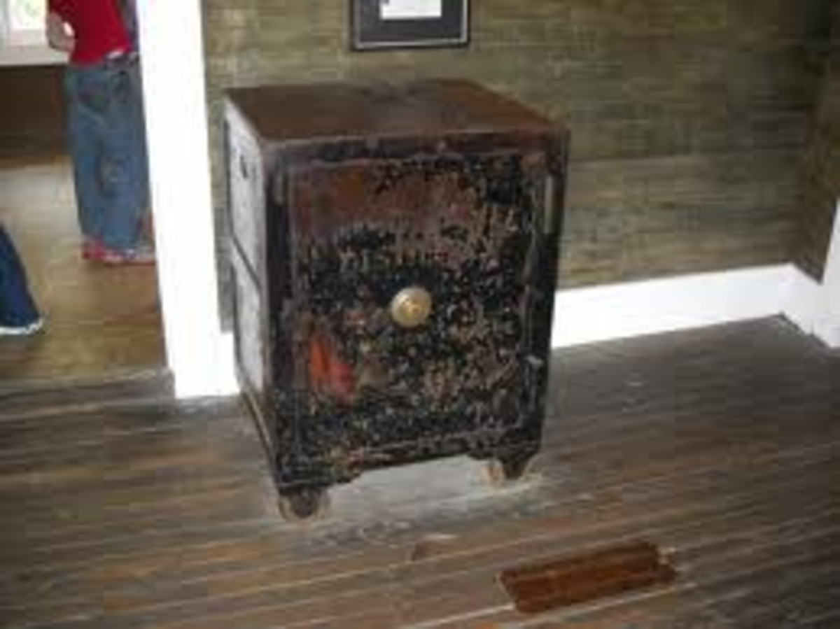 The safe that caused Jack Daniel's gangrene