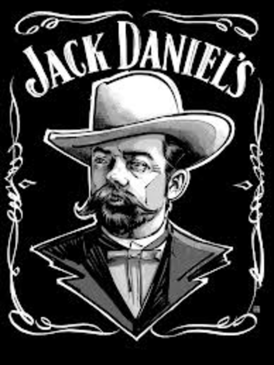 "Jasper ""Jack"" Daniels was known for his long black coat and hat."