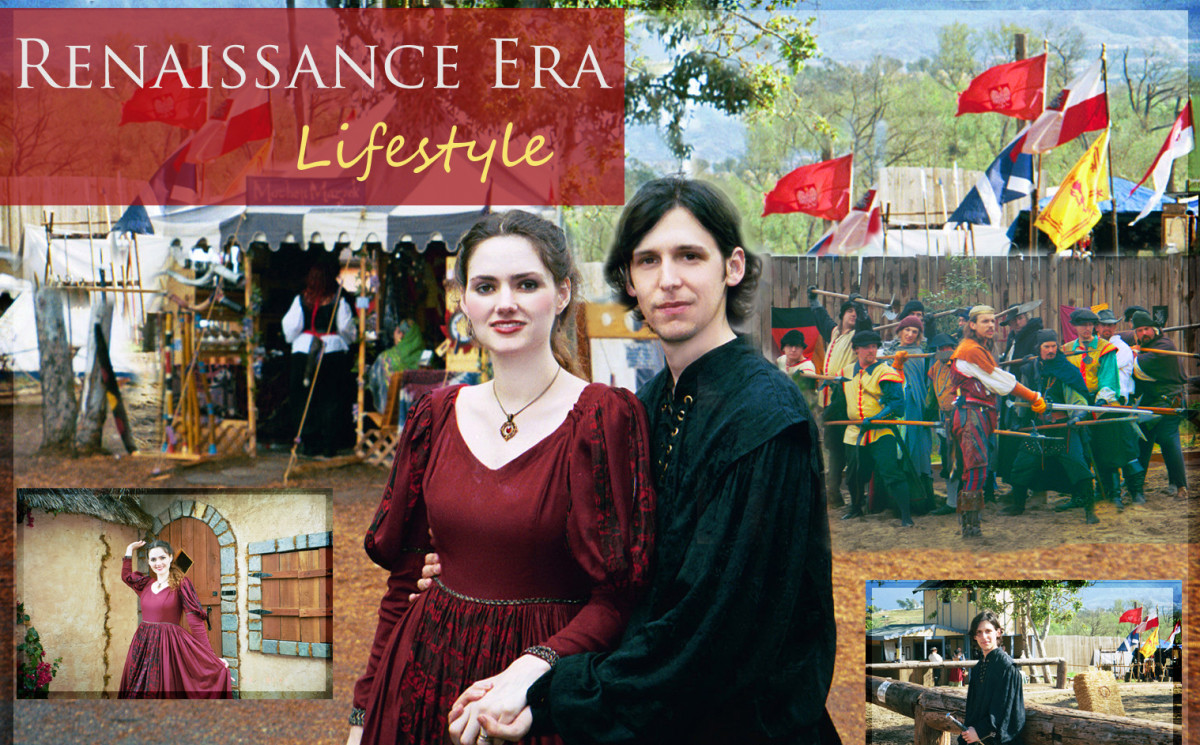 Renaissance Era Lifestyle 2003 Ren Faire in Southern California