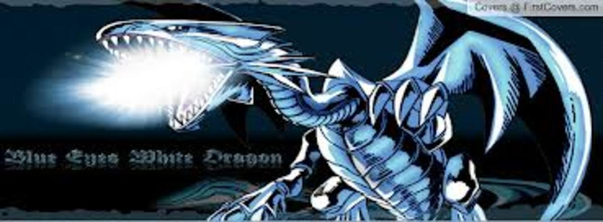 Blues Eyes White Dragon makes this deck what it is.