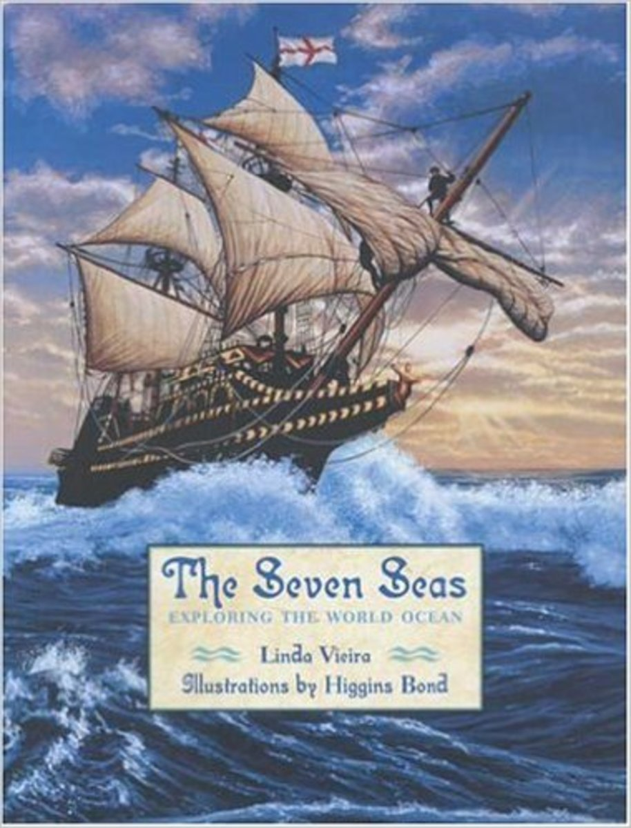 The Seven Seas: Exploring the World Ocean by Linda Vieira