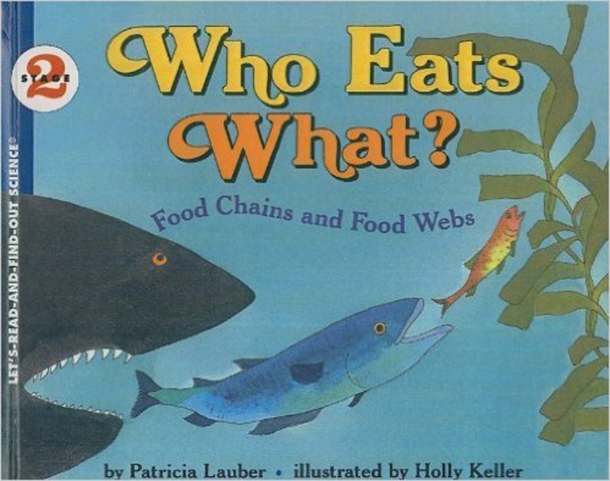 Who Eats What? Food Chains and Food Webs (Let's-Read-and-Find-Out Science, Stage 2) by Patricia Lauber
