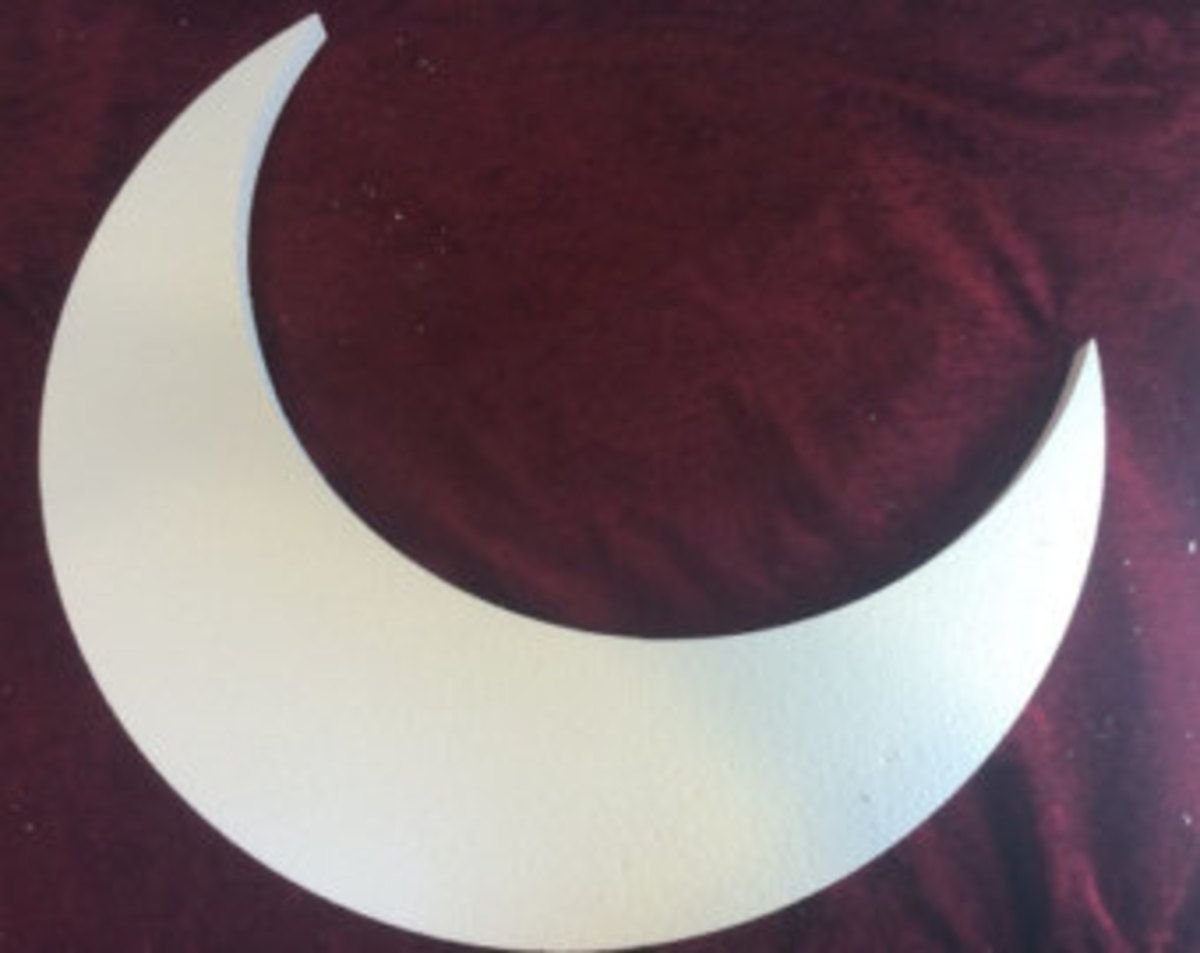 Taping a moon shape to a child's shirt to demonstrate the relationship between the moon and tides. Image credit: https://www.etsy.com/search/handmade/craft-supplies-and-tools?q=crescent+moon