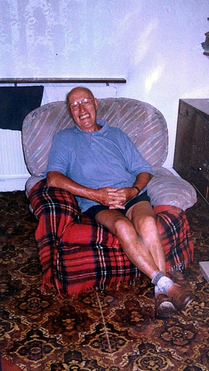 My father only weeks before his sudden death