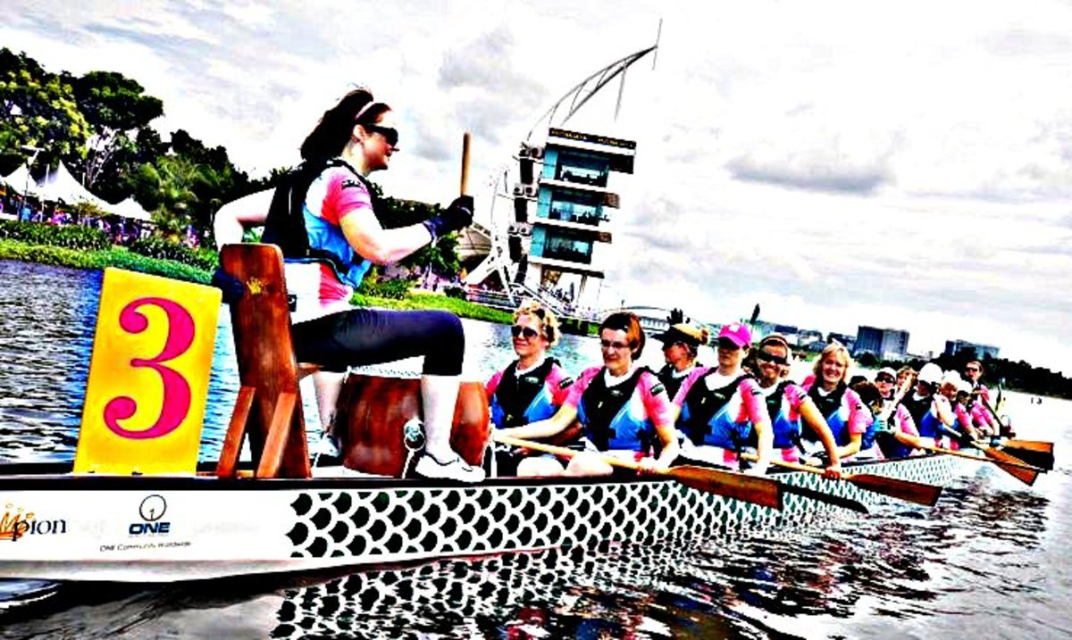 The Malaysia International Dragon Boat Race will include the Breast Cancer Survivor Teams