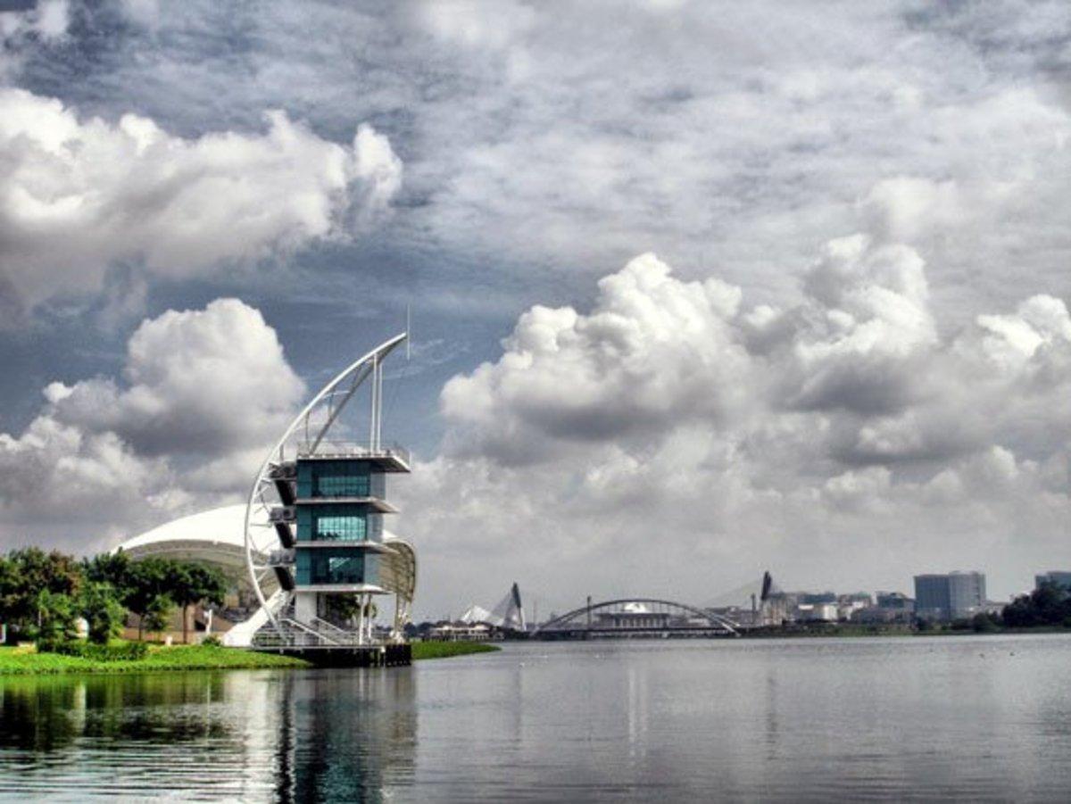 Putrajaya Water Sport Complex, venue for the Malaysia International Dragon Boat Race in Putrajaya