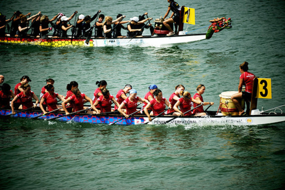 Dragon Boat Festival in Penang, Malaysia