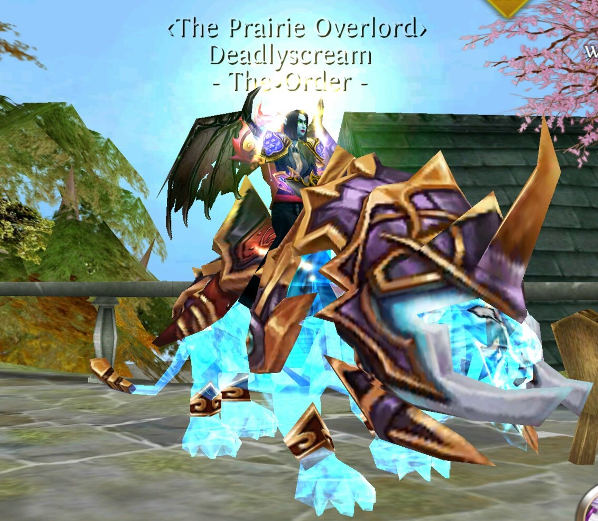 Oac Mounts - Pro Player on Guardian of the Dawn.