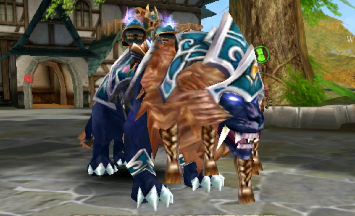 This is a level 3, or tier 3 mount found northeast of Exiles Village in the Under Realm.