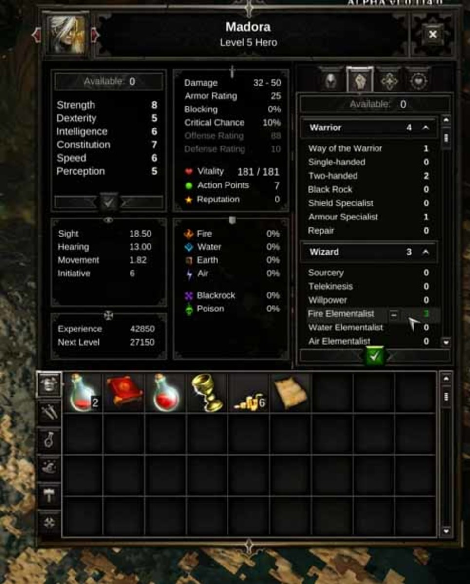 Divinity Original Sin  Wizard Build Guide