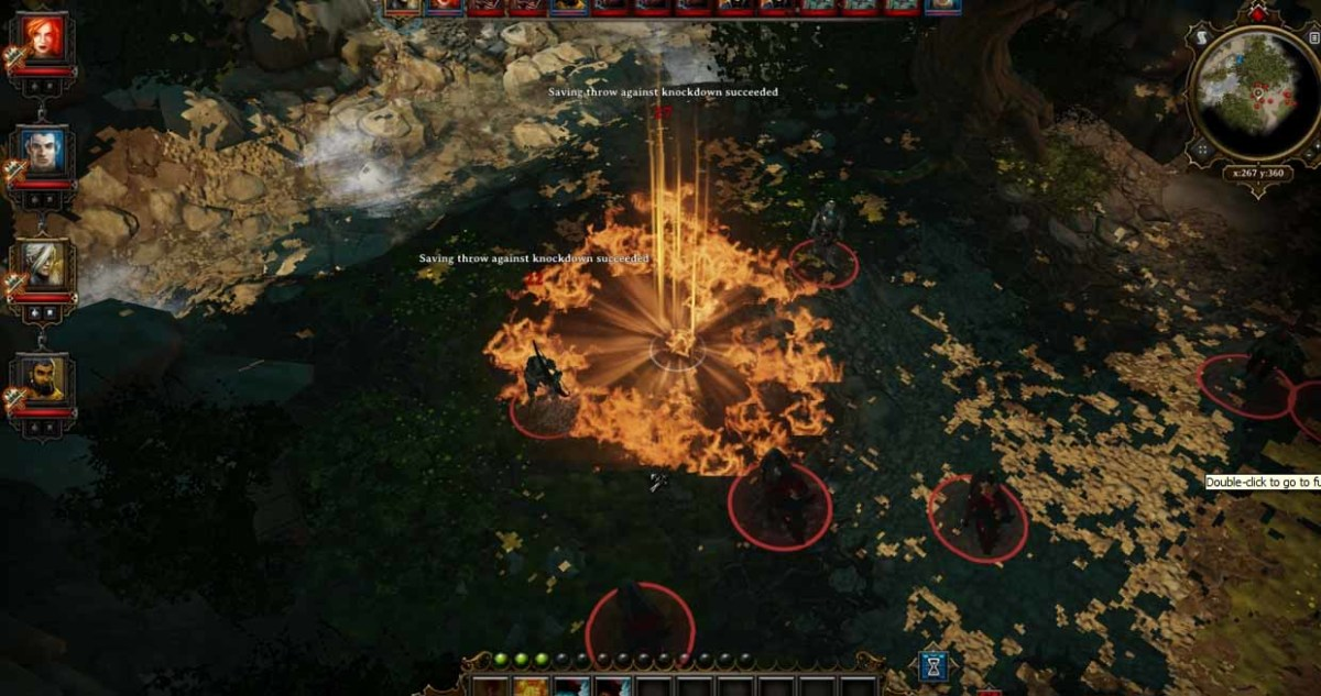 Phoenix Dive has more devastating effect on the enemies with level up of the fire elementalism ability.