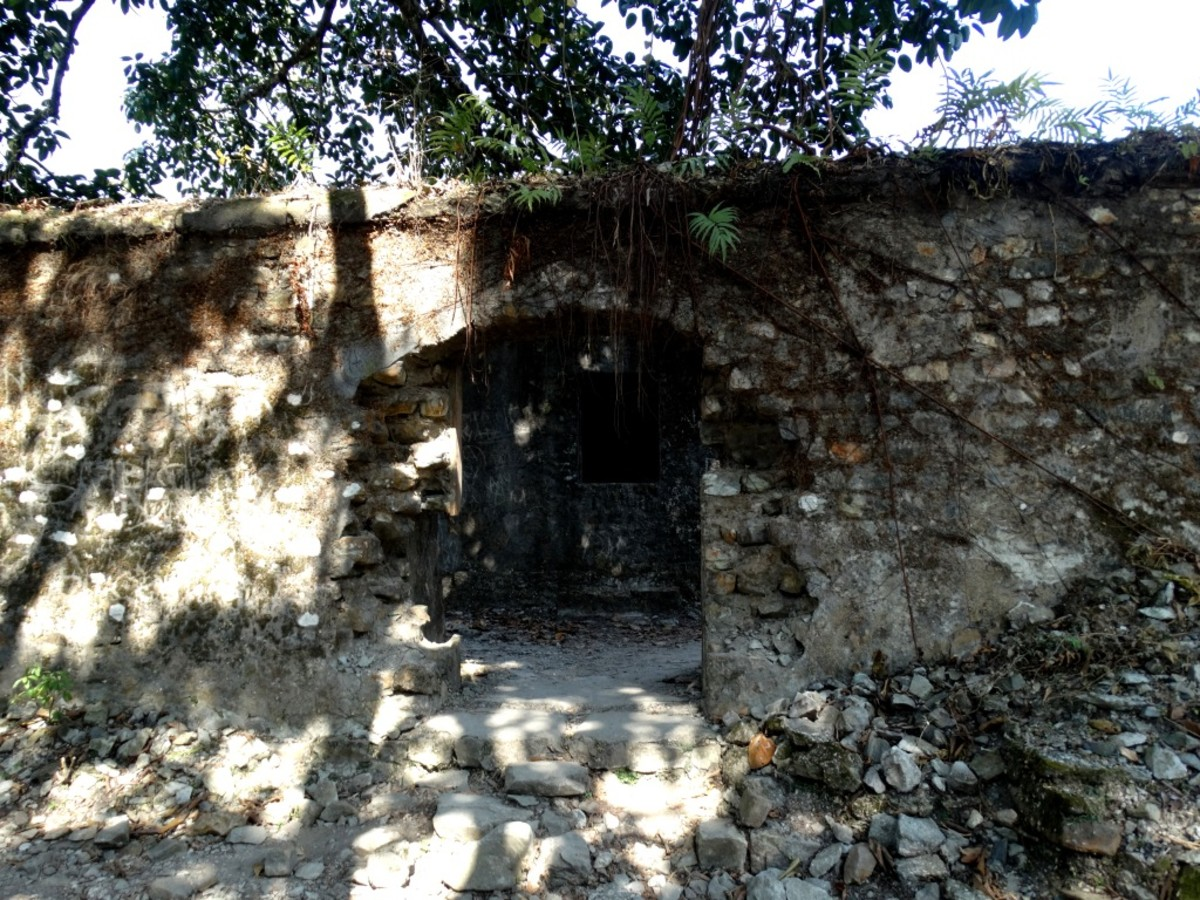 Entry to the office of the Buxa Fort