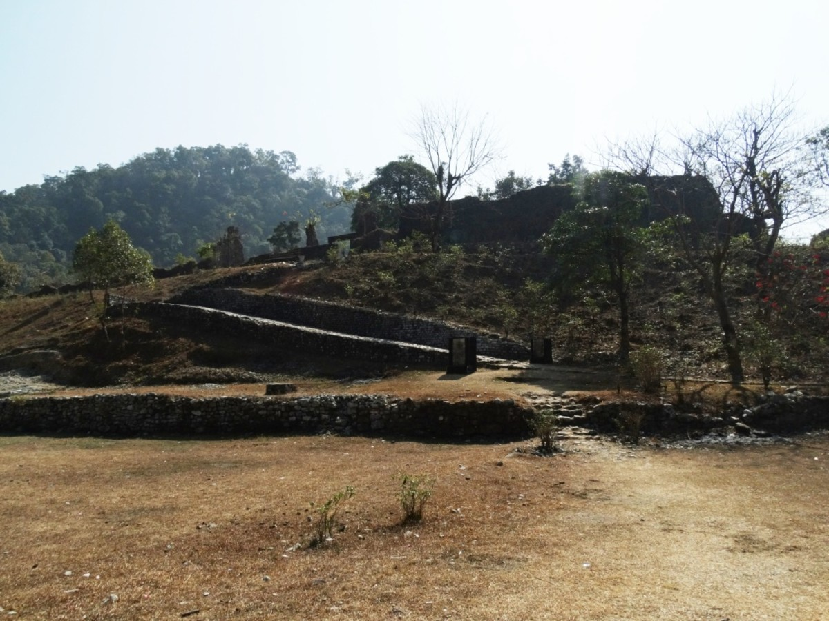 The Buxa Fort as it is now