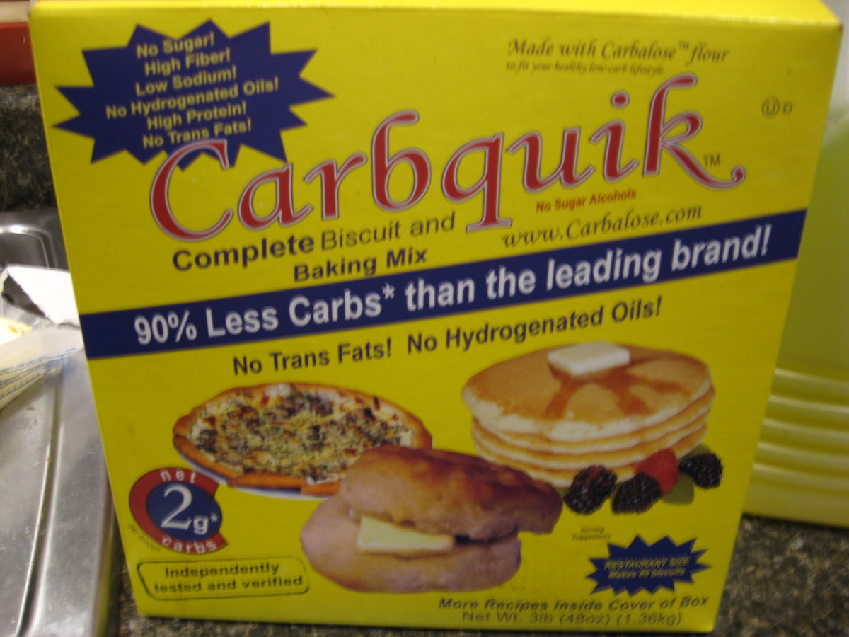 Best Low Carb Flour - Carbalose and Carbquik