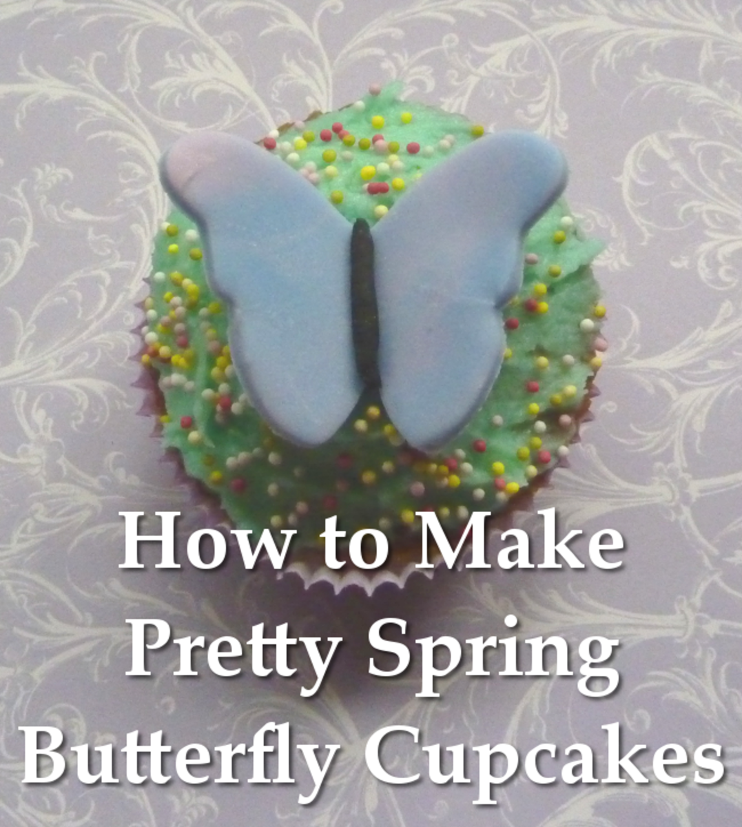 Beautiful Butterfly Cupcakes Ideal for Spring Celebrations