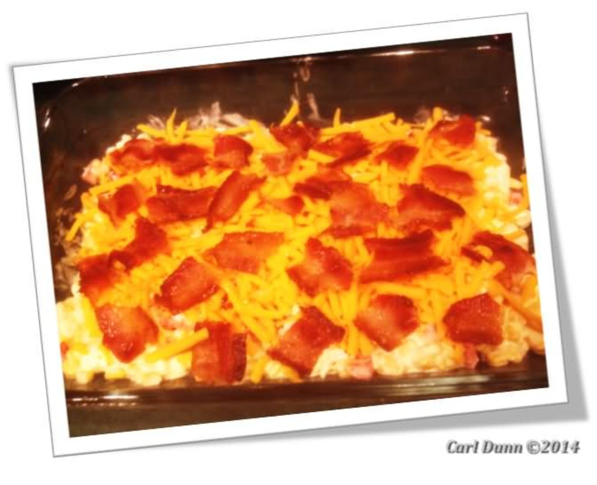 Bacon adds the Southern Style - Carl Dunn © 2014