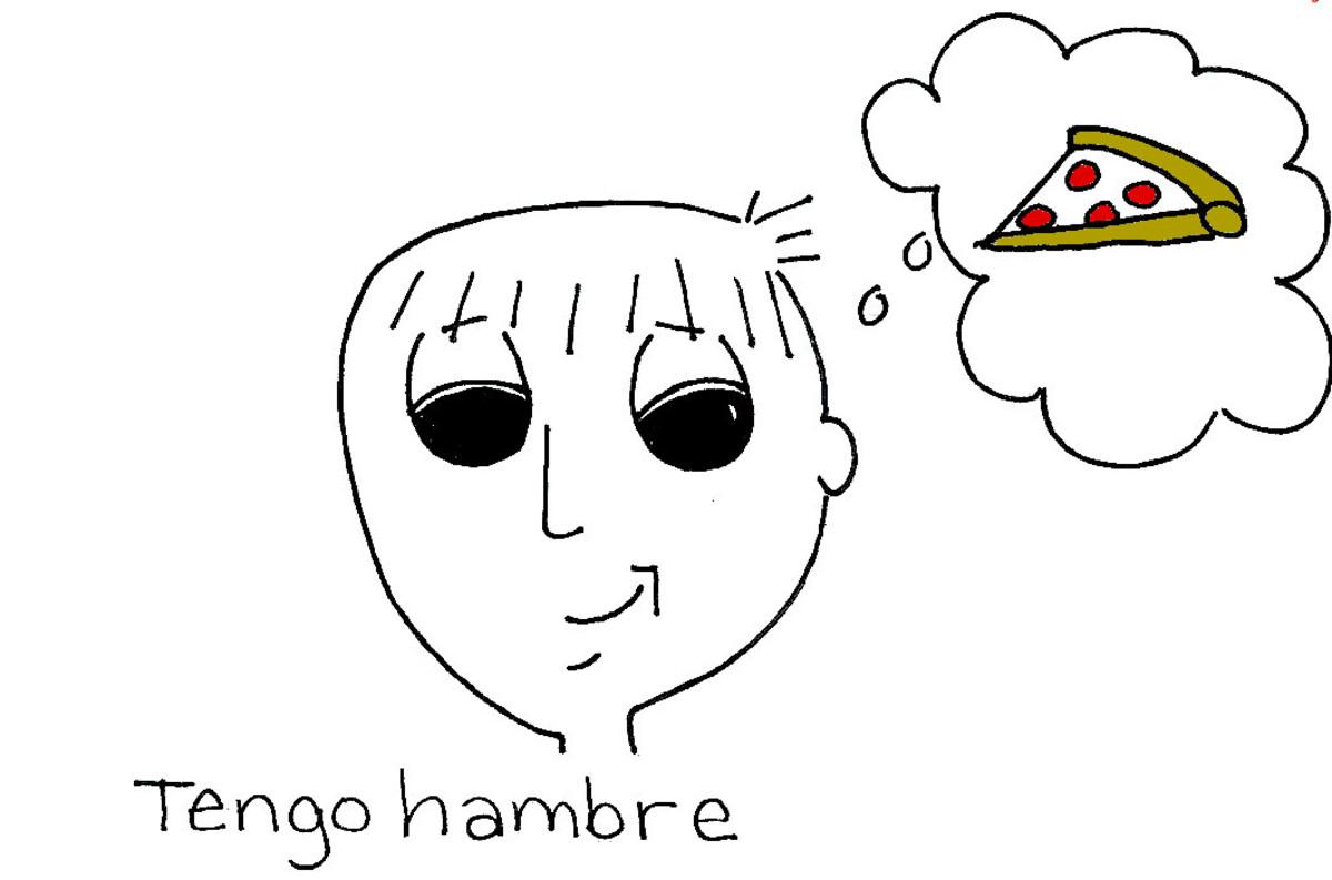 Tengo hambre.