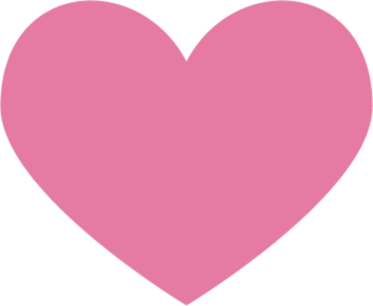 Basic Pink Heart Image