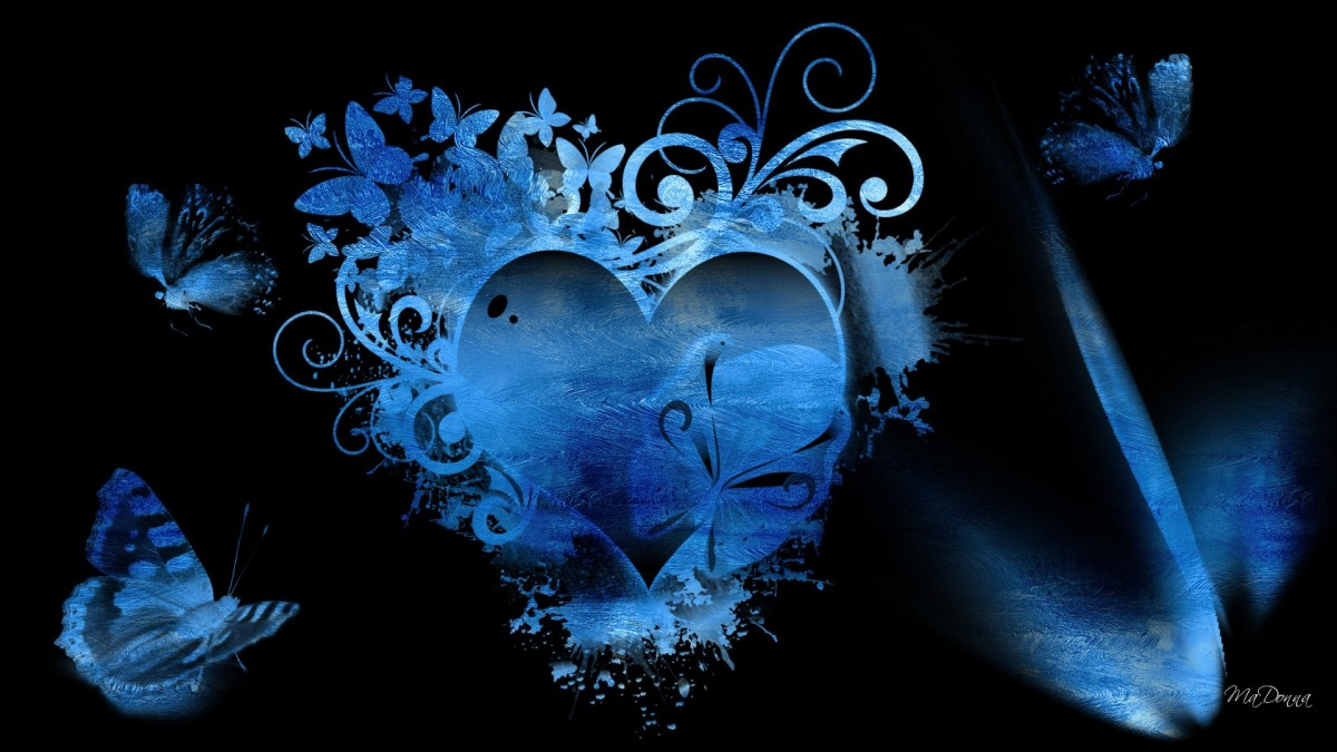 A Blue Heart picture