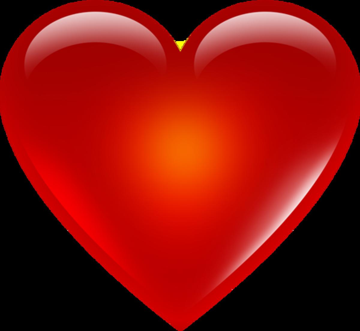 Basic Red Heart