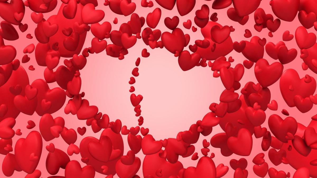 Two Romantic Hearts
