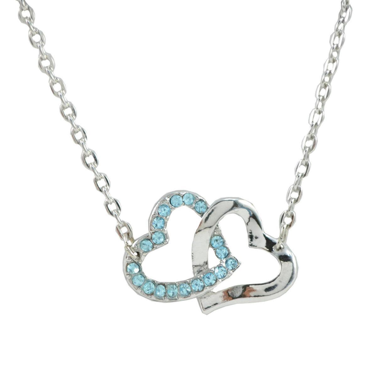 Two hearts pendant