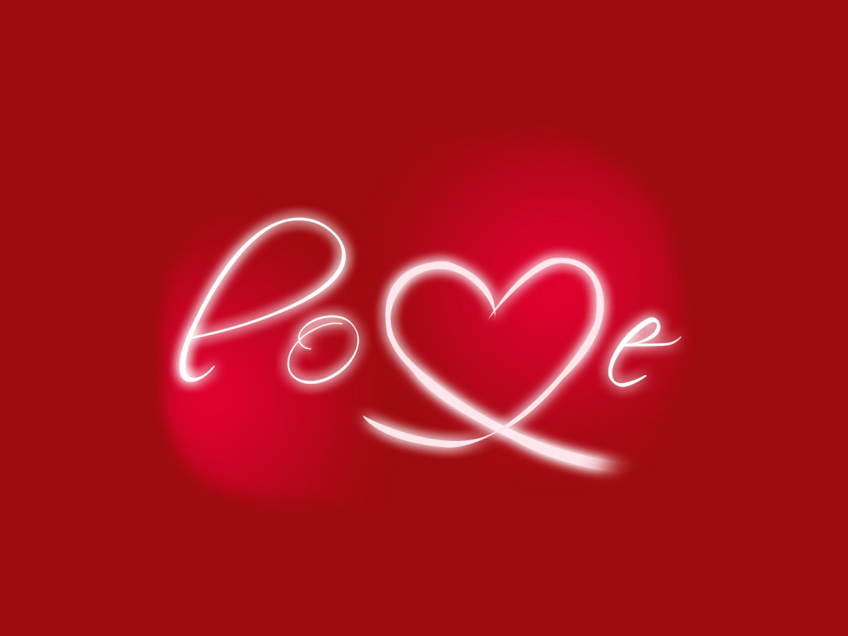 Express your love with a heart pic