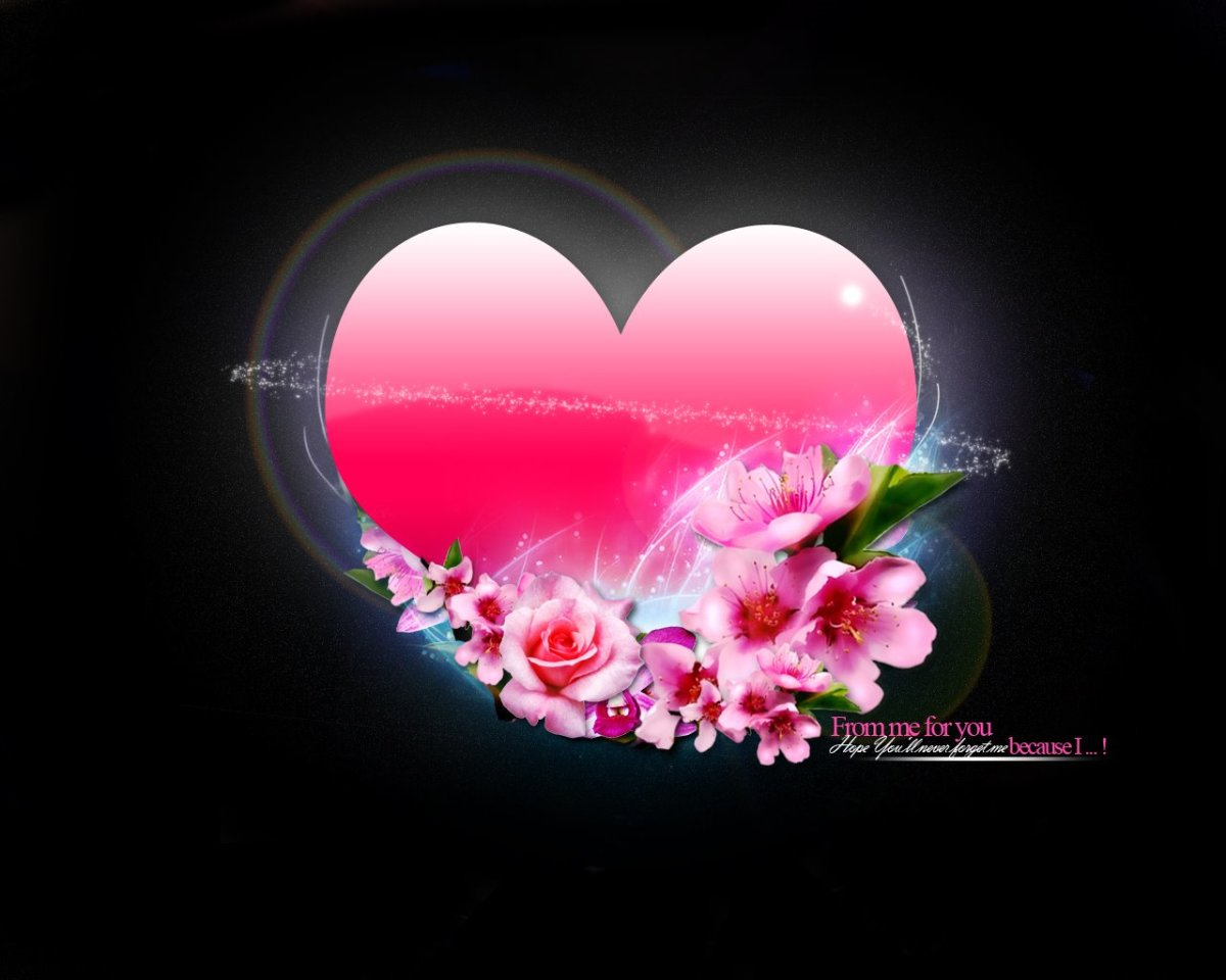 Picture of pretty pink heart