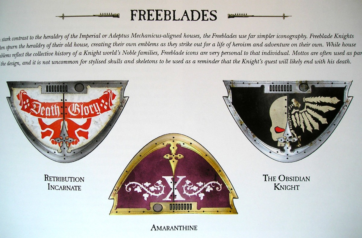 Imperial Knight Freeblades